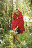 Red Riding Hood No.2 Photographic Print by Sabine Rosch