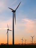 Windpower Photographic Print by Wolfgang Simlinger