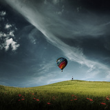 Wating for the Landing Photographic Print by Christine Ellger