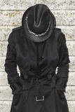 Woman in a Black Coat 7 Photographic Print by Svetlana Sewell
