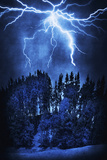 Thunderstorm 1 Photographic Print by Svetlana Sewell
