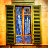 Window Reflections, Florence Photographic Print by Dolores Smart