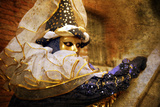 Harlequin in Blue and Gold Photographic Print by Ursula Kuprat
