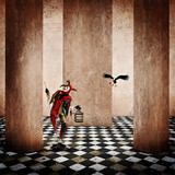 The Bird Catcher Photographic Print by Christine Ellger