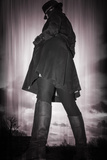 Woman in a Black Coat 3 Photographic Print by Svetlana Sewell