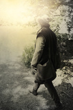 Walking Tudor Man Photographic Print by Svetlana Sewell