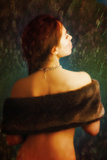 Woman from Behind Photographic Print by Ricardo Demurez