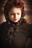 Mary Closeup 1 Photographic Print by Eugenia Kyriakopoulou