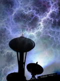 Space Needle Photographic Print by Gary Waters