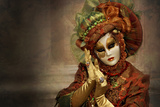 Venetian Costume 2 Photographic Print by Ursula Kuprat