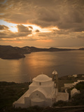 Santorin1 Photographic Print by Wolfgang Simlinger