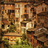 Siena, Italy, Buildings Photographic Print by Dolores Smart