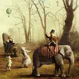 The Forgotten Tea Parade Photographic Print by Kinga Britschgi