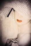 Woman in a Hat Photographic Print by Svetlana Sewell