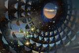 Pantheon with Stars Photographic Print by Dolores Smart