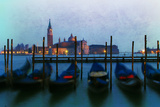 Venetian Gondolas Photographic Print by Ursula Kuprat
