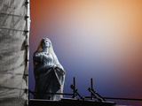 Netted Statue, Vatican Photographic Print by Dolores Smart