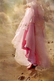 Woman in a Pink Dress Photographic Print by Svetlana Sewell
