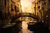 Venetian Canal Photographic Print by Ursula Kuprat