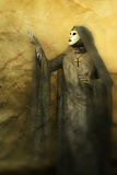 Pious Woman in Mask 2 Photographic Print by Ursula Kuprat