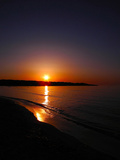 Sunset over the Sea - 1 Photographic Print by Andrea Kuritko