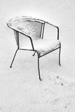 Snowy Chair Photographic Print by Stuart Brill