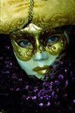 White and Gold Mask Photographic Print by Ursula Kuprat