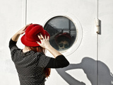 Red Hat 1 Photographic Print by Eugenia Kyriakopoulou