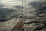 Standing on the Bridge Photographic Print by Viktor Pozdnyak