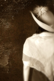 Woman in White Hat 2 Photographic Print by Ricardo Demurez