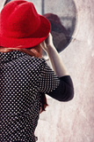 Red Hat 4 Photographic Print by Eugenia Kyriakopoulou