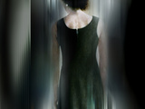 Mr Black Dress Photographic Print by Gary Waters
