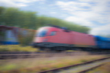 Train Photographic Print by Katarzyna Kuban