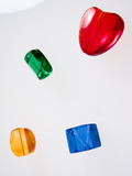 Objects in Four Colours Photographic Print by Max Hertlischka