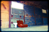 Red Couch Photographic Print by Max Hertlischka