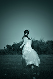 Woman in a White Dress 2 Photographic Print by Svetlana Sewell