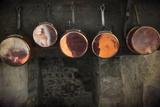 Vintage Saucepans Photographic Print by Svetlana Sewell
