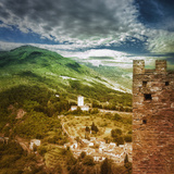View from Castle, Assisi, Italy Photographic Print by Dolores Smart
