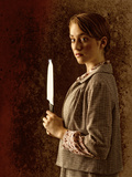 Young Woman with a Knife Photographic Print by Ricardo Demurez