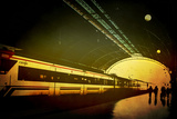 Train Station II Photographic Print by Eugenia Kyriakopoulou