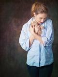 Young Woman with a Teddy Bear Photographic Print by Ricardo Demurez