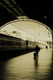 Train Station I Photographic Print by Eugenia Kyriakopoulou