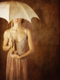 Woman with Umbrella 12 Photographic Print by Ricardo Demurez