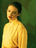 Young Woman in Yellow Blouse Photographic Print by Ricardo Demurez