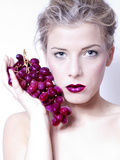 With Grapes 2 Photographic Print by Svetlana Muradova