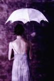 Woman with Umbrella 11 Reproduction photographique par Ricardo Demurez
