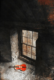 Violin at the Window Photographic Print by Svetlana Sewell