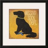 Missing Sock Department Print by Jo Moulton