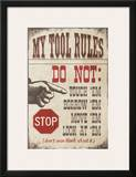 My Tool Rules Posters by Jo Moulton