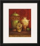 Tuscan Urns I Art by Pamela Gladding